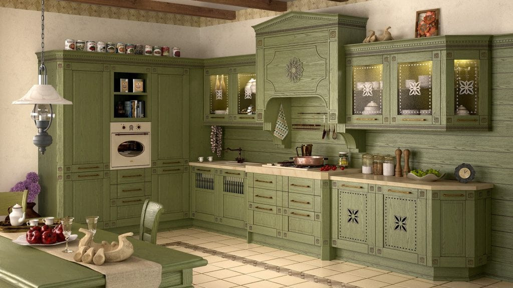 Догляд за меблями в кухні