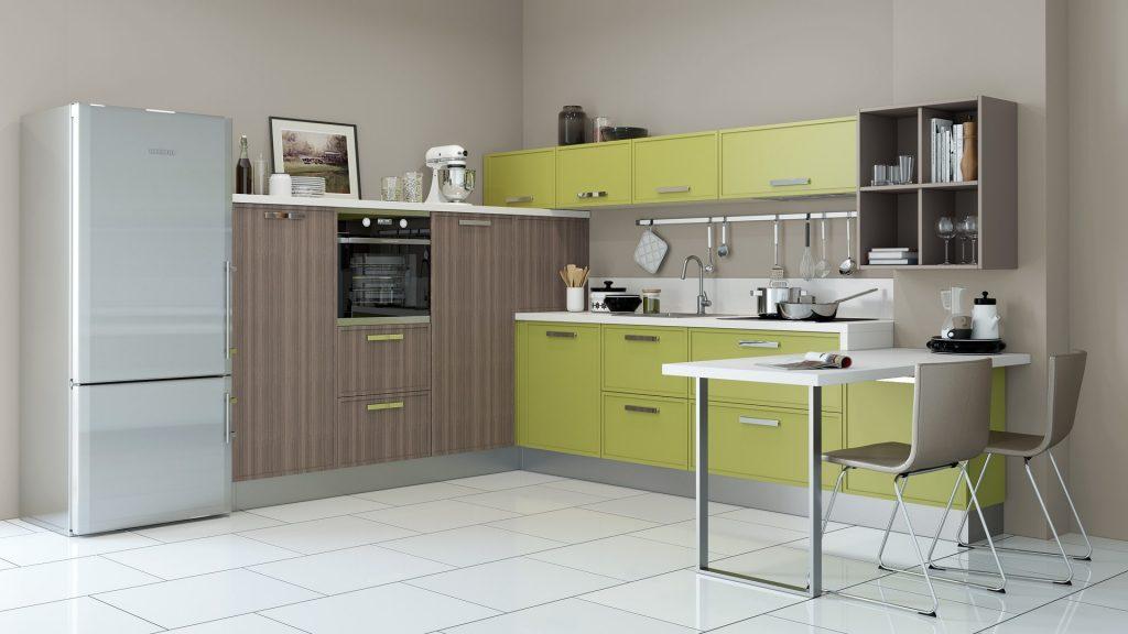 Колірна гама оформлення кухні