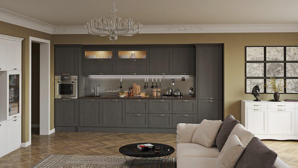 Дизайн, індивідуальне проектування меблів кухні львів