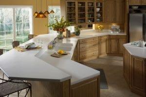 Кухонна стільниця зі штучного акрилового каменю