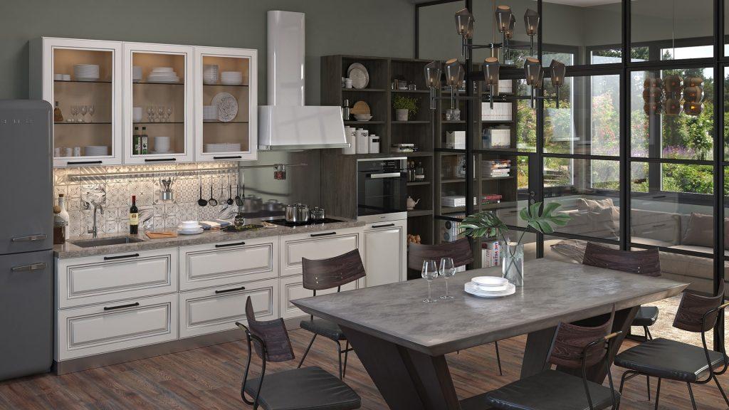Меблі для маленької кухні