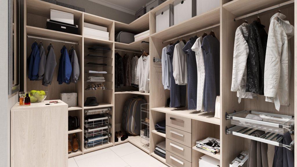 гардеробна за індивідуальними розмірами