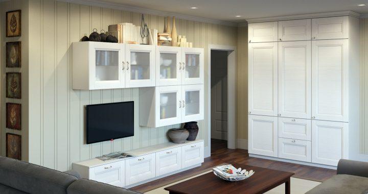Меблі для новобудови за індивідуальним дизайном