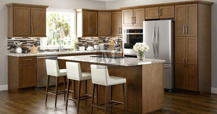 Кухні коричневого кольору