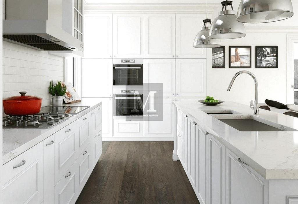 кухні білого кольору