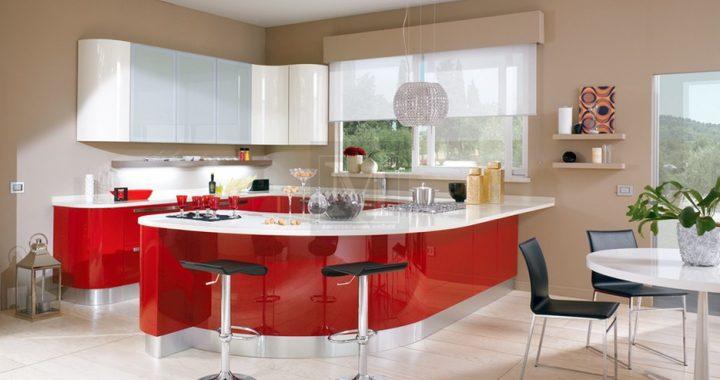 Креативний дизайн сучасної кухні.