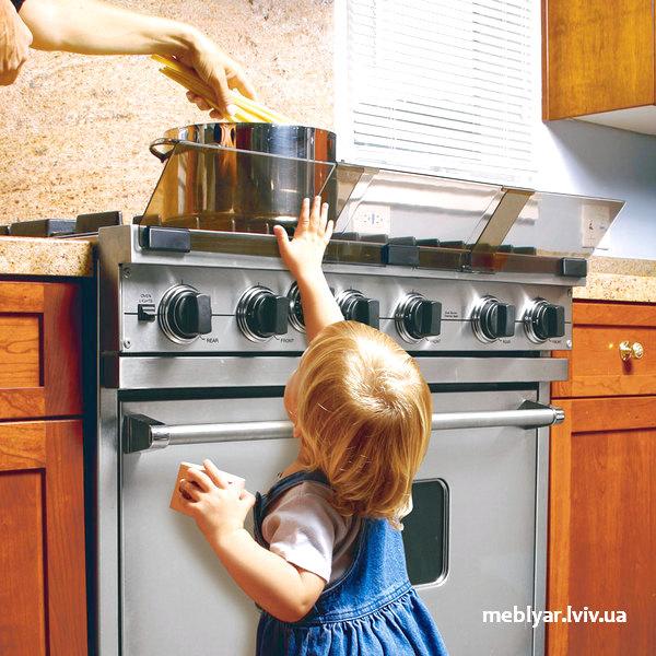 безпечна кухня для дітей