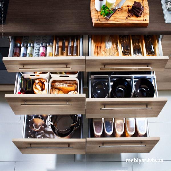 розумно використовуємо місце на кухні