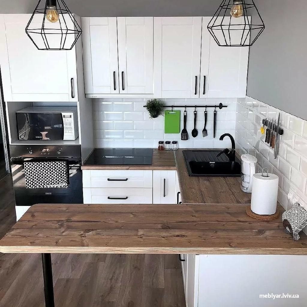 Незручна робоча поверхня на кухні