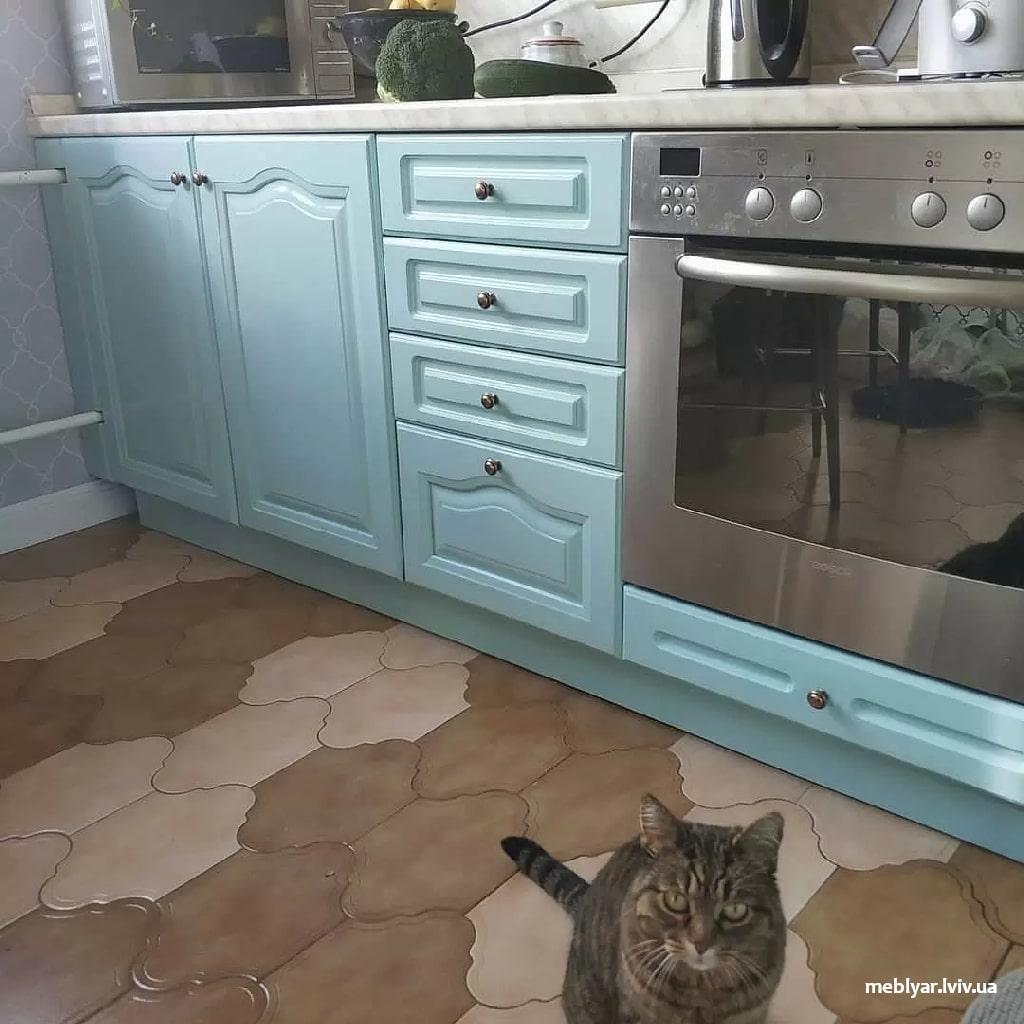 Набридливі фасади на кухні
